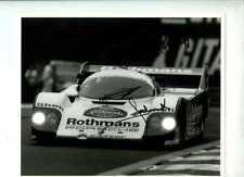 Jacky Ickx & Jochen Mass Porsche 956 Spa 1000 Km 1984 Signed Press Photograph