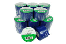 """27 ROL 2"""" x 36y Insulated Electrical Vinyl PVC Sealing Tape Flame Retardant Blue"""