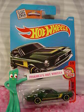 Case B 2016 i Hot Wheels '68 SHELBY GT500 #105✰Green/Yellow/mc5✰Then and Now