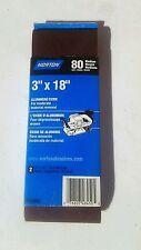 """Norton Aluminum Oxide 3""""X18"""" Medium 2/Pk"""