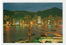 NIGHT SCENE: Hong Kong postcard (C23260)