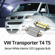 VW T4 T5 MK5 5 Transporter Xenon White Interior LED Light Bulb Upgrade