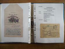 Kriegsgefangenenpost Frankreich II. Wk.; Forschungssammlung mit 44 Belegen!