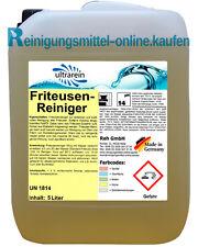 5l Liter Friteusenreiniger Fettlöser Gastronomiereiniger  Profi Reinigungsmittel