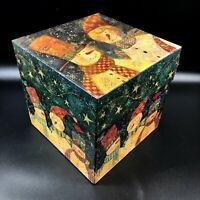 Bob's Nesting Boxes ~ Jolly Snow Folk ~ Susan Winget ~ Christmas Snowman