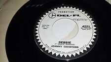 JOHNNY CRAWFORD Cindy's Gonna Cry / Debbie DEL FI 4221 PROMO 45 7""