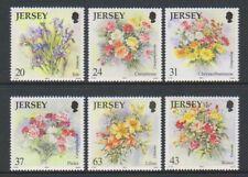 Jersey - 1998, Flowers set - MNH - SG 874/9