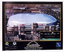TRANS WORLD DOME 1996 INAUGURAL GAME PHOTO PICTURE ST LOUIS RAMS 11 x 14