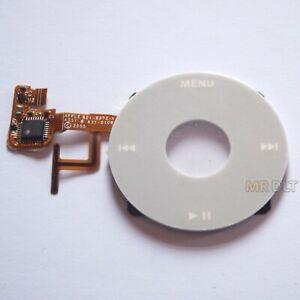 New Grey iPod Video White Clickwheel Scroll Wheel Click 30GB 60GB 80GB UK A1136
