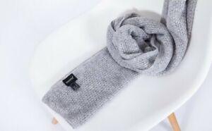 Ladies Wool Scarf - grey