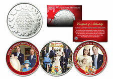 BRITISH ROYAL FAMILY Set of 3 Royal Canadian Mint Medallion Coins PRINCE CHARLES