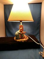 Vintage  Rabbit with the Mother Lamp peter cottontail  ESTATE SALE  EASTER DECOR