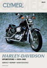 Harley Davidson Sportster 883 1200 XLH1000 1959-1985 Clymer Manual M419 Nuevo