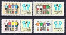 Argentinien (Argentinia) - Michel-Nr. 1340-1343 postfrisch/** (Fußball WM 1978)