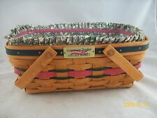 Longaberger 1993 Bee Basket Combo Signed by Dave