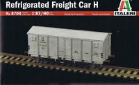 ITALERI 1:87 H0 KIT VAGONE FREIGHT CAR H REFRIGERATED 8704
