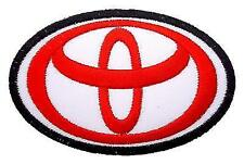 """Toyota Logo Cars Motors Trucks Clothes 3""""x2"""" Sew Iron Embroidery Applique Patch"""