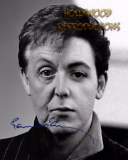 REPRINT - PAUL MCARTNEY ~ Autographed signed photo 8x10