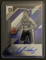 2019-20 Donruss Optic Quinndary Weatherspoon Signature Series Purple Prizm Auto