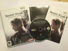 NINTENDO Wii GAME SECRET FILES TUNGUSKA +BOX & INSTRUCTIONS / COMPLETE PAL GWO