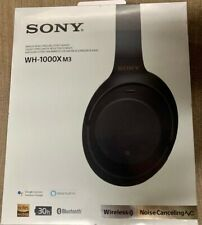 New ListingSony Wh-1000Xm3 Wireless Noise Canceling Headphones - Black