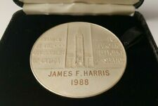 Silver Service Medal Awarded by Government of Canada 1988 to James F. Harris