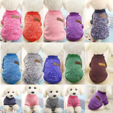 HOT Mascota ABRIGO CHALECO PARA PERROS INVIERNO ROPA Gato Cachorro Suéter Vestir