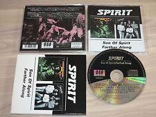 SPIRIT CD - SON OF SPIRIT & FARTHER ALONG / BGO in MINT