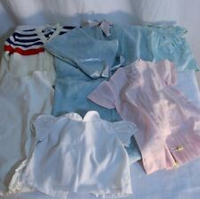 Vintage Clothing LOT Mixed infant Toddler Boys Girls Dress Shirt Bunting sweater