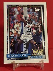 1992-93 Topps Shaquille O'Neal Rookie Card #362 GEM MINT Shaq RC!!