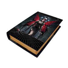 Aracnafaria Faerie Book Box Anne Stokes goth spider web faery wicca wiccan