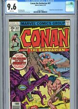 Conan the Barbarian #87 CGC 9.6 White Pages Marvel Comics 1978