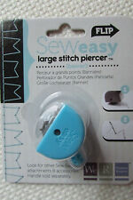NIP Sew Easy Large Stitch Piercer Banner Attachment By We R Memory Keepers