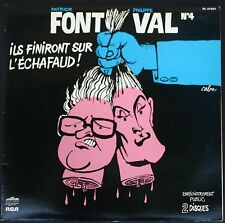 FONT ET VAL N°4 POCHETTE CABU DOUBLE 33T LP RCA Ils finiront sur l'échafaud