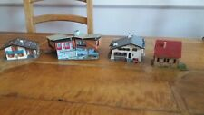 3 Faller Oo/Ho Houses & 1 Other