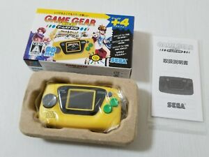 Sega Game Gear Micro Console Yellow HCV-3278 Japan 0721A16