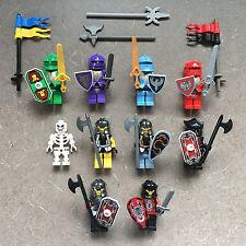 Lego Castle KNIGHTS KINGDOM MINIFIGURES Jayko Danju Santis Rascus Karzon Vladek