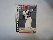 2002 Leaf Press Proof Blue # 63 Barry Larkin Card (B48) Cincinnati Reds