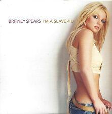 Britney Spears  –  I'm A Slave 4 U  cd single in cardboard