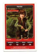 Carte Carrefour Dreamworks n° 120/216 - HAROLD - Dragons