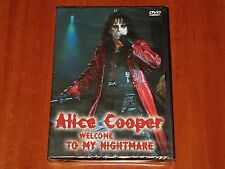ALICE COOPER DVD WELCOME TO MY NIGHTMARE 1976 LIVE MUSIC CONCERT FILM SHOW New