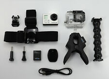 GOPRO HERO 3+ PLUS SILVER EDITION CAMCORDER 1080P HD SPORTS ACTION VIDEO CAMERA