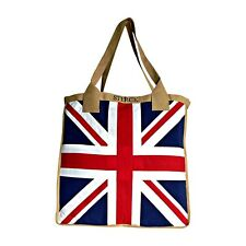 Union Jack Large Tote Bag - NEW - Stitched Union Jack (not painted) - 44 x 40cm