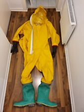 Respirex Chemical Suit with Boots, CSA, XL
