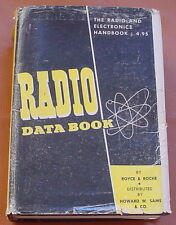 Electronics ~ RADIO DATA BOOK  Boyce & Roche ~ Second Edition 1950 ~ Illustrated