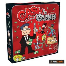 Cash 'N Guns - Second Edition Party Game of Bluff and Gangsters: Board / Card