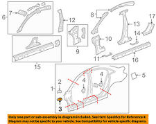 Chevrolet GM OEM 11-15 Cruze UNISIDE-Fender Mounting Bracket 94567585