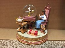 Disney Beauty and the Beast Water Globe - HARD TO FIND !!  FREE SHIPPING !!