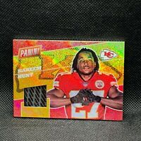 2017 Panini The National Kareem Hunt Glove Relic RC 5/49 KC Chiefs Browns