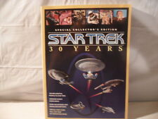 RARE STAR TREK 30 YEARS SPECIAL COLLETOR'S EDITION WITH MAP
